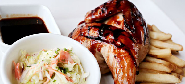 Barbecue Beer Can Chicken