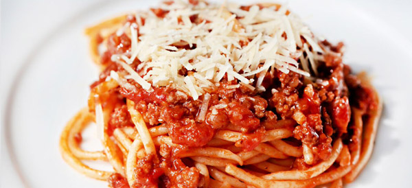 Kiddie Spaghetti Bolognese