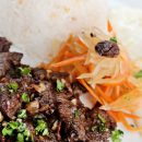 Tapsilog (Marinated Beef and Eggs)
