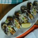 Baked Chilean Mussels