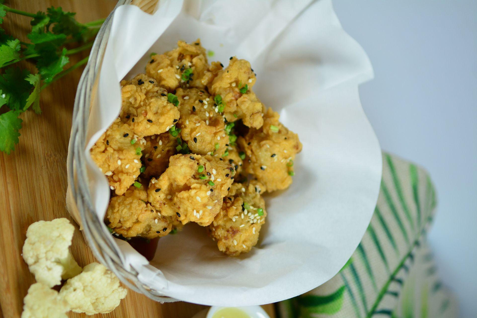 Crispy Cauliflower Florets